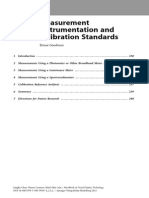 2.4.2. Measurements n Calibration Tests
