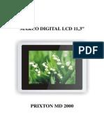 Manual Castellano Prixton MD2000