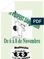 IV Profest Dance 2009 Regulamento