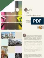 Invitation Expo Evry ville contemporaine
