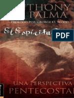 Anthony D. Palma - El Espíritu Santo
