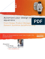 1-Automate Your Design With Equations 2012