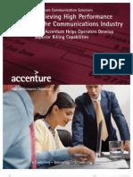 Accenture Brochure Communications Billing