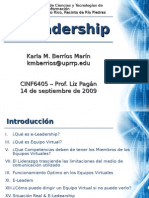 E-Leadership kmberrios Sep2009