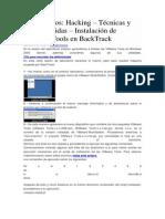 Laboratorios Hacking Técnicas y contramedidas Instalación de VMware Tools en BackTrack