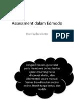 Assessment Dalam Edmodo