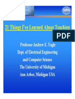 Slides onSlides_on_teaching. Teaching