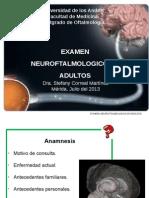 Examen Neurooftalmologico