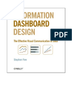 Information Dashboard Design the Ef