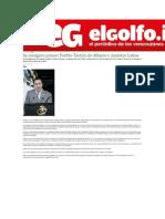 13-12-2013 El golfo.info - Se inaugura primer Pueblo Táctico de México y América Latina