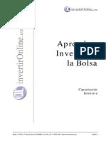IOLU Programa Aprenda a Invertir en La Bolsa Intensivo