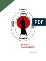 89119690 Kyusho Jitsu 36 Puntos Vitales Prohibidos Del Bubishi de Okinawa by Leopoldo Munoz Orozco Upload by Aldocorp