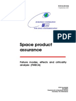 Ecss-Q-30-02A Failure Modes, Effect and Criticality Analysis (Fmeca) (7 September 2001)