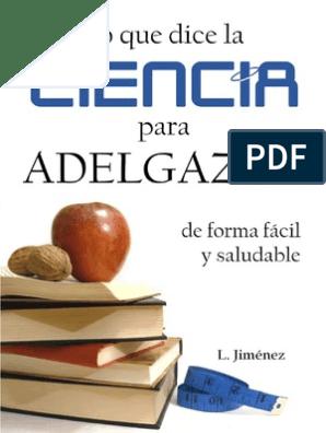 Libro gratis lo que dice la ciencia para adelgazar