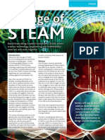 STEAM ( Science, Technology, Engineering, Arts, and Mathematics).
