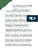 La referencia es Félix de Azúa del El País de Madrid