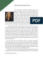 Sejarah Penemuan Hukum Newton