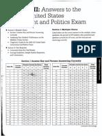 AP Us Government 2009 Exam Key1