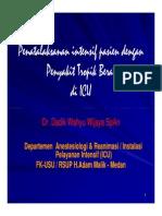 Tmd175 Slide Penatalaksanaan Intensif Pasien Dengan Penyakit Tropik Berat Di Icu