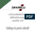 Catálogo de partes Cifarelli