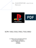 Play Station Service Manual