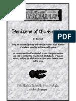 Warhammer Fantasy RPG - 2nd Edi Denzins of the Empire