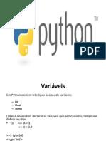 apresentação python