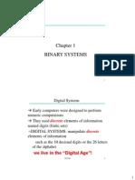 ITI1100 Ch 1 Binary Systems