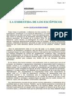 Afr La Embestida de Los Escc3a9pticos