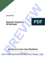Elwood N. Chapman - Actitud