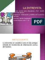 Producto 11 La Entrevista