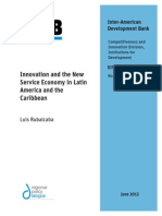 Innovation and the New Service Economy in Latin America and the Caribbean