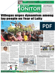 CBCP Monitor Vol. 18 No. 1