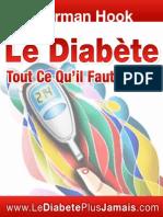 Le Diabete Tout Ce Qu Il Faut Savoir