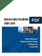 156690200 Rencana Induk Pelabuhan Nasional Tahun 2030