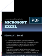 Group 1 - MS Excel