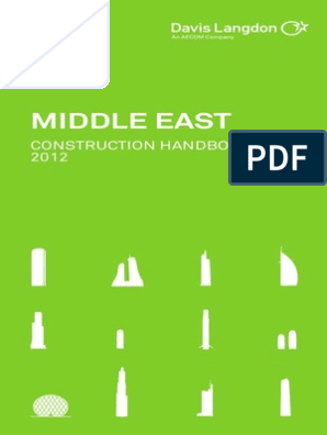 Davis Langdon Middle East Handbook 2012 | Building Information