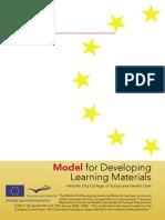 Model for developing material