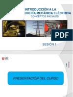 SESIÓN 1- Introducción a la Ingeniería Mecánica Eléctrica - copia