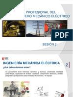 SESIÓN 2- Perfil del  Ingeniero Mecánico Eléctrico