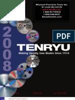 Tenryu Carbide Tipped Saw Blade Catalog
