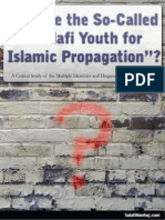 WHO ARE THE SO-CALLED 'SALAFI YOUTH FOR ISLAMIC PROPAGATION'?