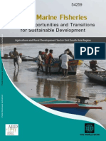 India Marine Fisheries Issues, Opportunities and Transitions for Sustainable Development