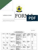 EL Sec Yearly Scheme of Work Form 5