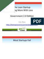 2009_09_08 the Lean Startup Gov 2.0 Summit Edition