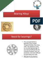 Bearing Alloys