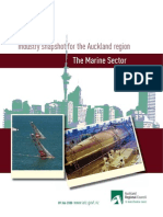 Industry Snapshot for the Auckland Region - The Marine Sector (1)