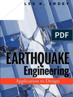 Earthquake Engineering-Application to Design - By CK Erdey