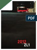 2012 CAMARO Zl 1 eBrochure