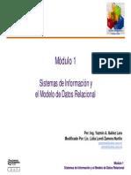 Modulo 1 Sistemas de Informacion Diapositivas